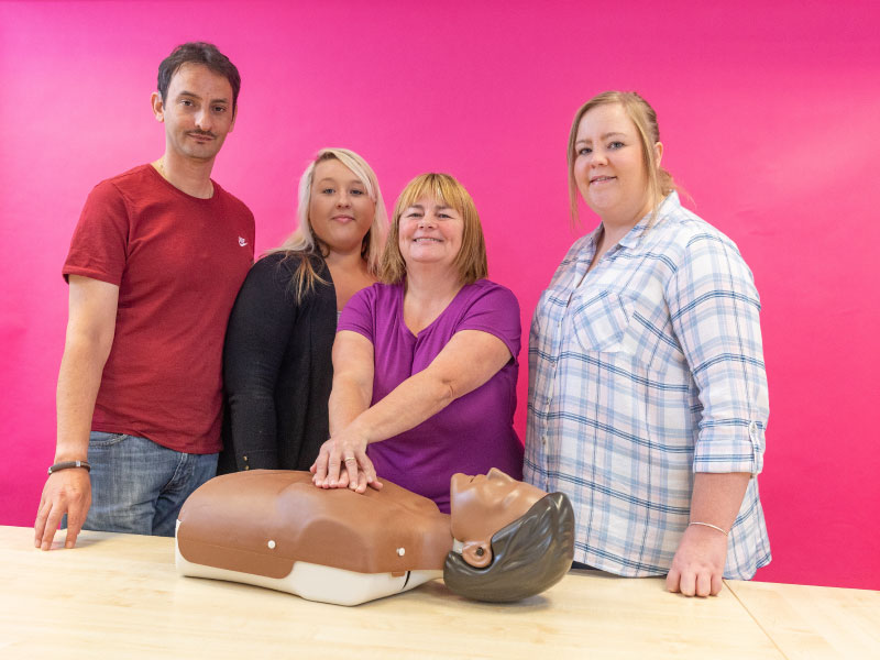 Health and Social Care, First Aid Training, Menter Training, Cardiff